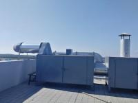 过滤箱(房)和活性碳箱组合